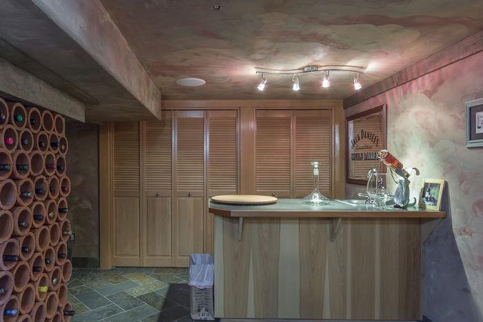 Wine Cellar with Bar