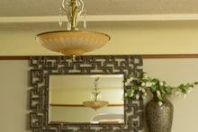 Living Room with Vintage Details