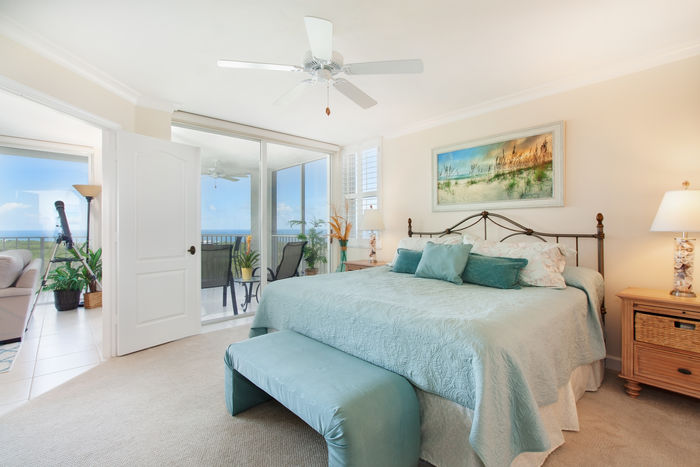 Master Bedroom Opens to Screened Lanai