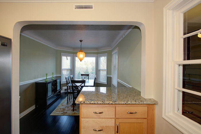 From Kitchen to Formal Dining Room