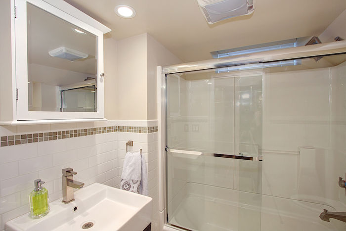 Full Bathroom, Lower Level, All New!