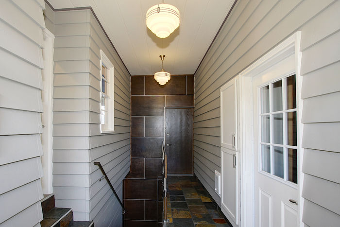 Breezeway to Garage and Lower Level