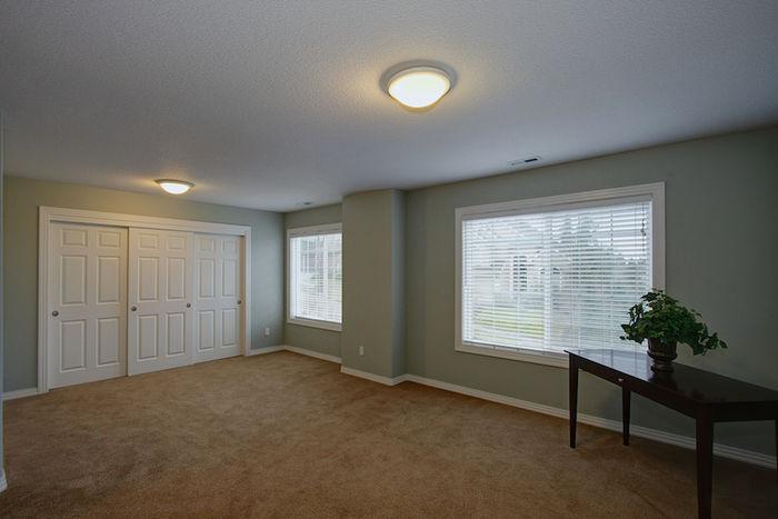 Bonus Room with Large Closet