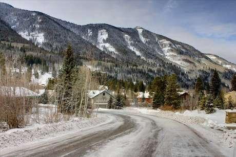 View of Vail Ski Resort